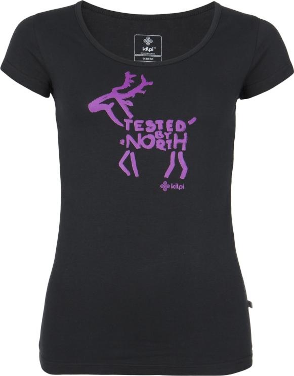 Dámské tričko KILPI PURACE-W černá Barva: Černá, Velikost: 34