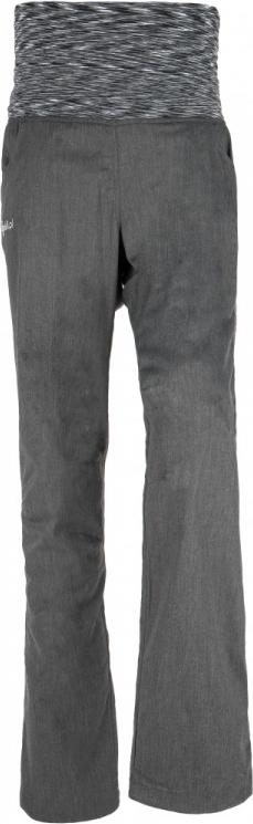 Dámské kalhoty KILPI ROTORUA-W Melange/žíhaná Barva: Šedá, Velikost: 42S