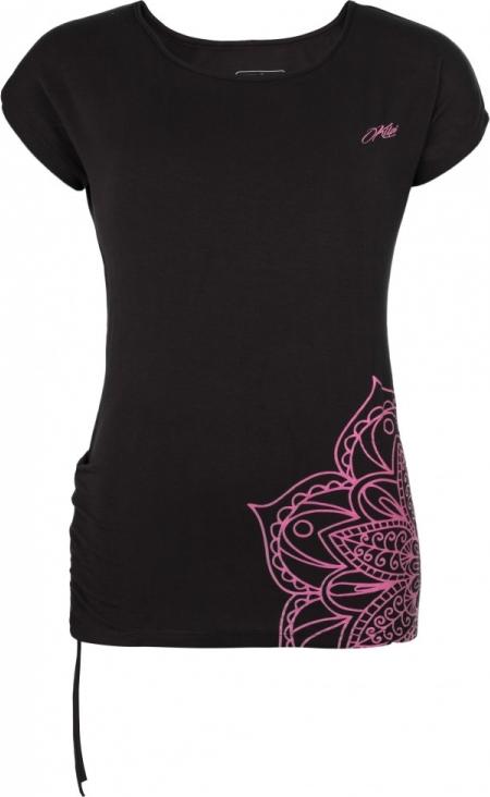 Dámské tričko KILPI CAVERA-W Černá Barva: Černá, Velikost: 34