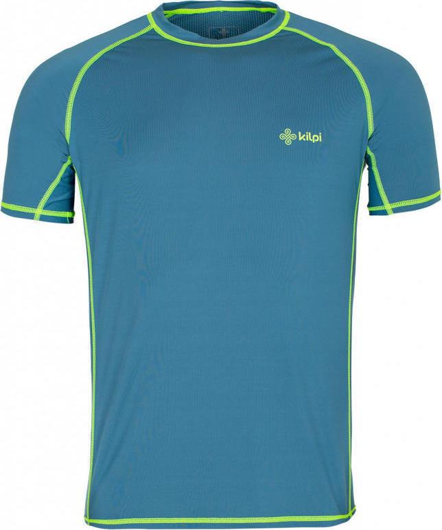 Pánské tričko KILPI BORDER-M Modrá Barva: Modrá, Velikost: 3XL
