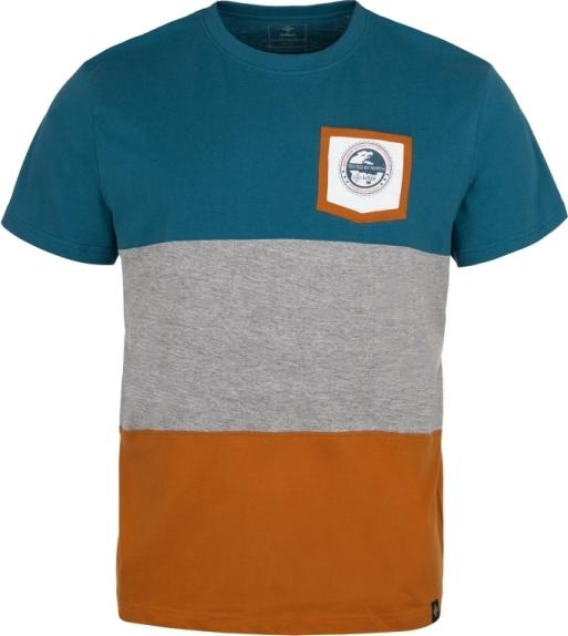 Pánské tričko KILPI TRICOL-M modrá Barva: Modrá, Velikost: 3XL