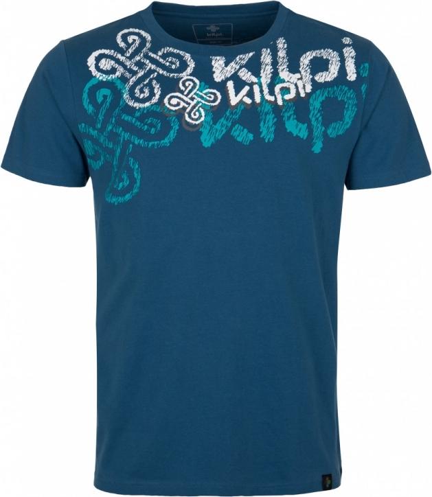 Pánské tričko KILPI TOKEN-M Modrá Barva: Modrá, Velikost: 3XL
