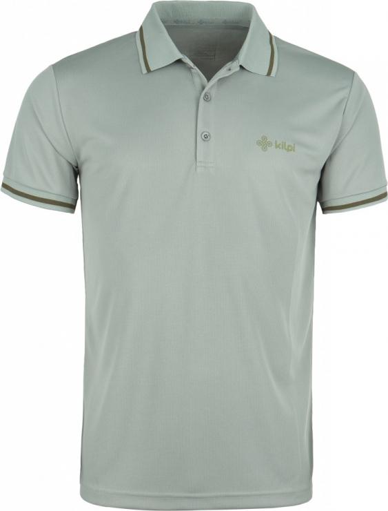 Pánské POLO tričko KILPI JUBA-M Khaki Barva: Khaki, Velikost: S