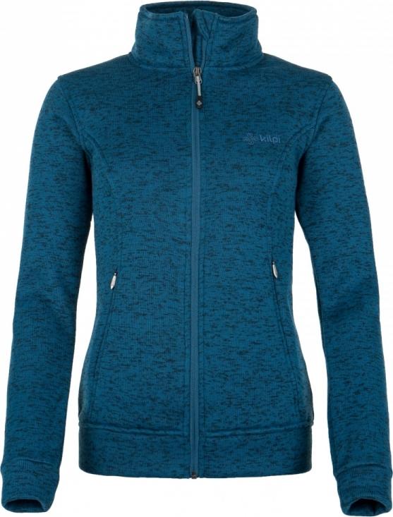 Dámská fleece mikina KILPI TONGARIRO-W Tmavě modrá Barva: Modrá, Velikost: 42
