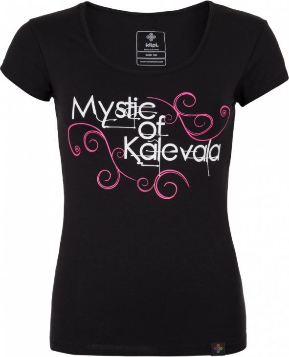 Dámské tričko KILPI BARILA-W Černá Barva: Černá, Velikost: 34