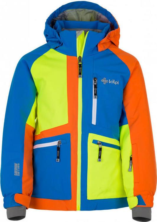 Chlapecká lyžařská bunda KILPI JACKYL-JB Modrá Barva: Modrá, Velikost: 158