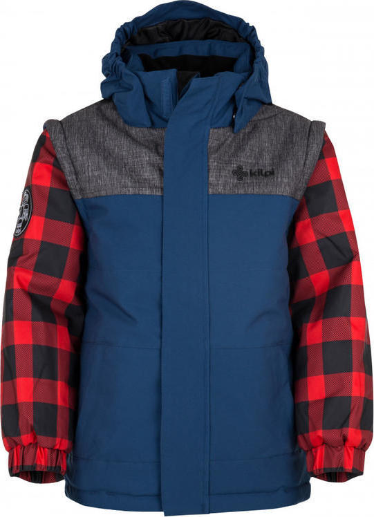 Chlapecká zimní bunda KILPI KIWI-JB Tmavě modrá Barva: Modrá, Velikost: 122