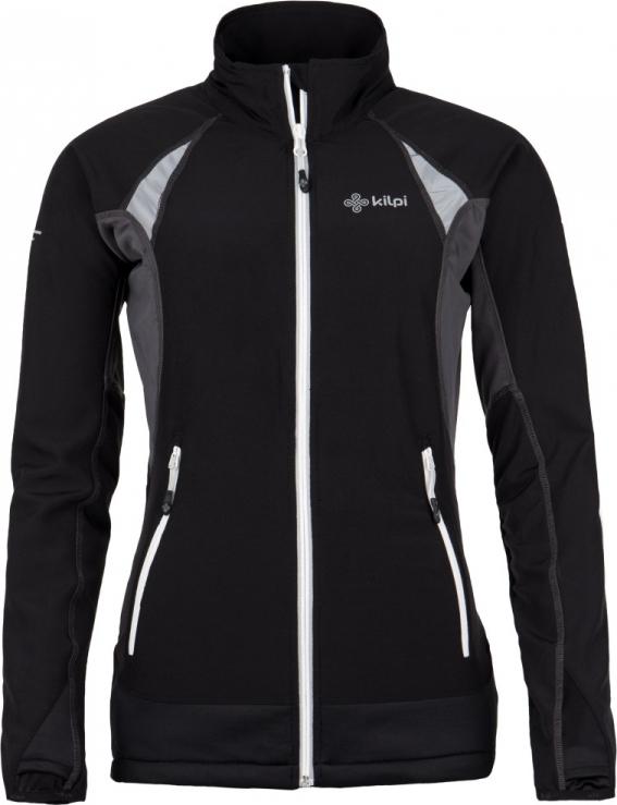 Dámská technická strečová bunda KILPI NORDIM-W Černá Barva: Černá, Velikost: 38