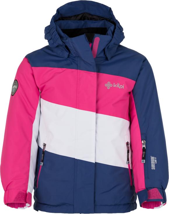 Dívčí lyžařská bunda KILPI KALLY-JG Tmavě modrá Barva: Modrá, Velikost: 158