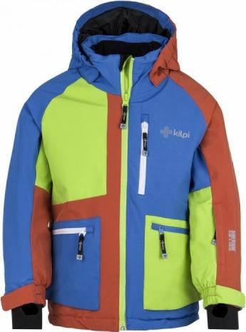 Chlapecká zimní bunda KILPI JACKYL-JB Modrá Barva: Modrá, Velikost: 122