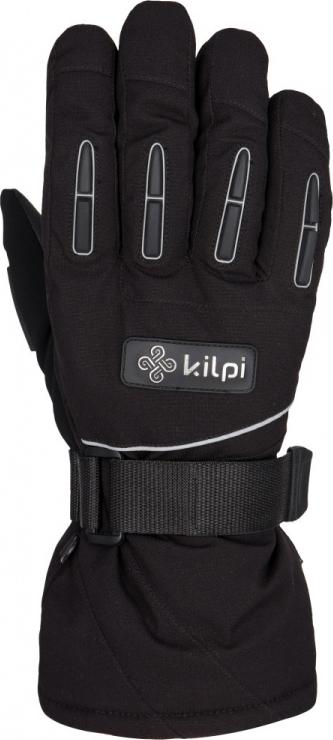 Pánské rukavice KILPI CEDRO černé Barva: Černá, Velikost: S