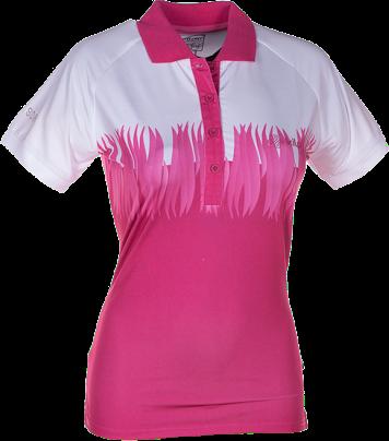 Dámské funkční POLO tričko KILPI SURPRISE II. Růžová Barva: Růžová, Velikost: 46