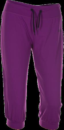 Dámské sportovní 3/4 kalhoty KILPI ROANOKE II. Fialová Barva: Fialová, Velikost: 46