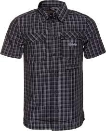 Pánská košile KILPI BEAVER VII. černá Barva: Černá, Velikost: S
