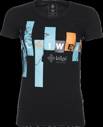 Dámské tričko KILPI JANA Černá Barva: Černá, Velikost: 34