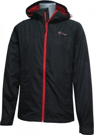 Pánská lehká bunda KILPI FOREST černá Barva: Černá, Velikost: XXL