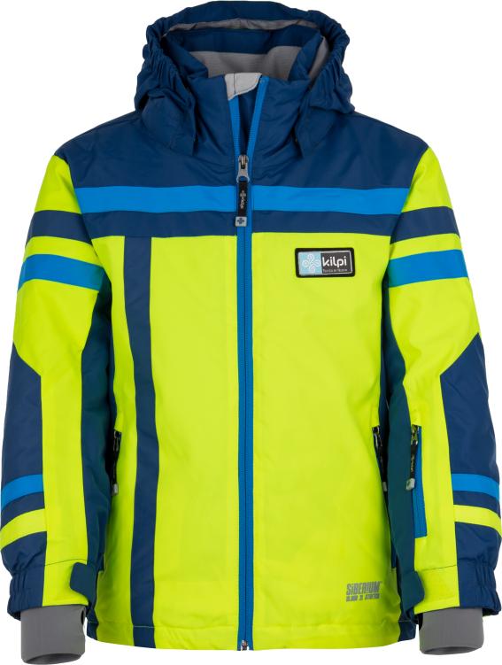Chlapecká lyžařská bunda KILPI TITAN-JB žlutá Barva: Žlutá, Velikost: 110