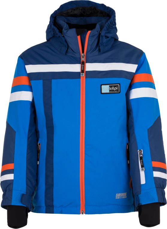 Chlapecká lyžařská bunda KILPI TITAN-JB Modrá Barva: Modrá, Velikost: 158