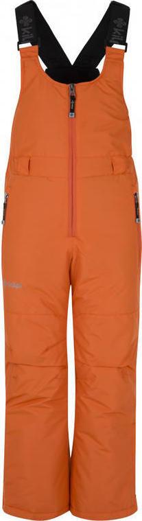Chlapecké lyžařské kalhoty KILPI DARYL-JB Oranžová Barva: Oranžová, Velikost: 134
