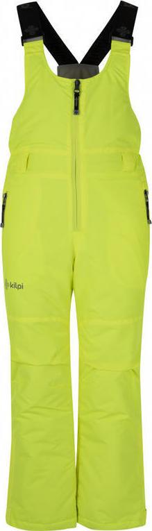 Dětské lyžařské kalhoty KILPI DARYL-JB Žlutá Barva: Žlutá, Velikost: 134