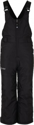Dětské lyžařské kalhoty KILPI DARYL-JB Černá 18 Barva: Černá, Velikost: 134