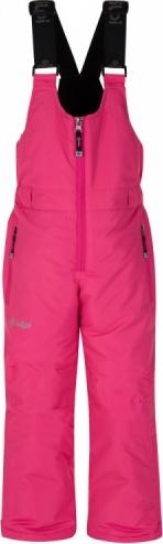 Dětské lyžařské kalhoty KILPI FUEBO-JG Růžová 18 Barva: Růžová, Velikost: 134