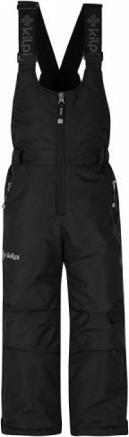 Dětské lyžařské kalhoty KILPI FUEBO-JG Černá 18 Barva: Černá, Velikost: 134