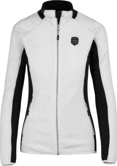 608bc2ee8c5 Dámská fleecová mikina KILPI SKATHI-W bílá Barva  Bílá