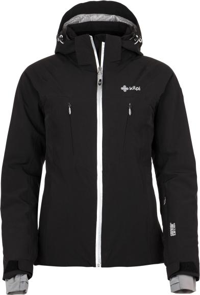 Dámská lyžařská bunda KILPI ADDISON-W Černá Barva: Černá, Velikost: 38
