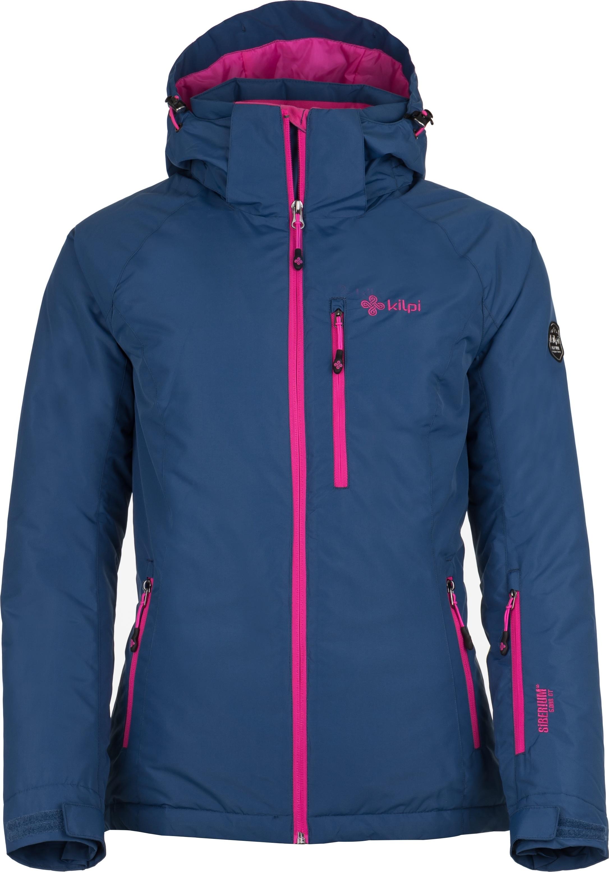Dámská lyžařská bunda KILPI CHIP-W Tmavě modrá Barva: Modrá, Velikost: 42
