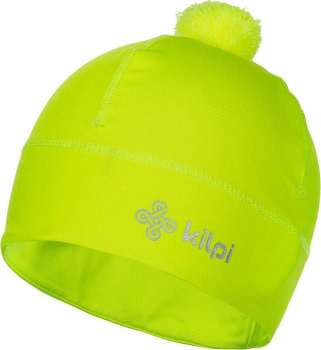 Univerzální fleecová čepice KILPI HOGARD-U žlutá Barva: Žlutá, Velikost: M