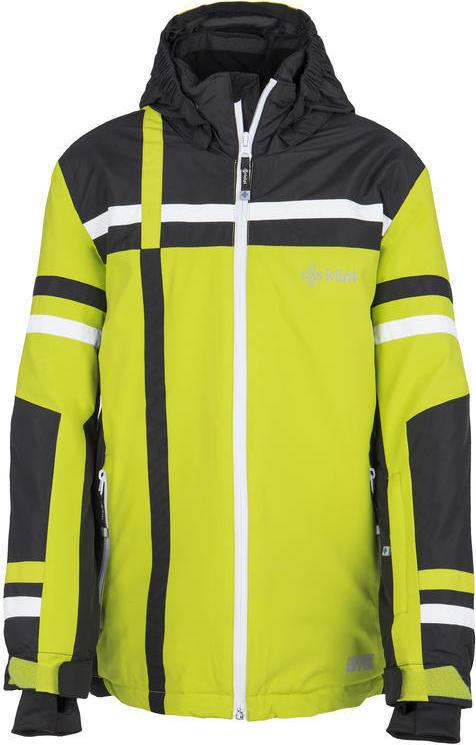 Chlapecká zimní bunda KILPI TITAN-JB Světle zelená Barva: Zelená, Velikost: 122