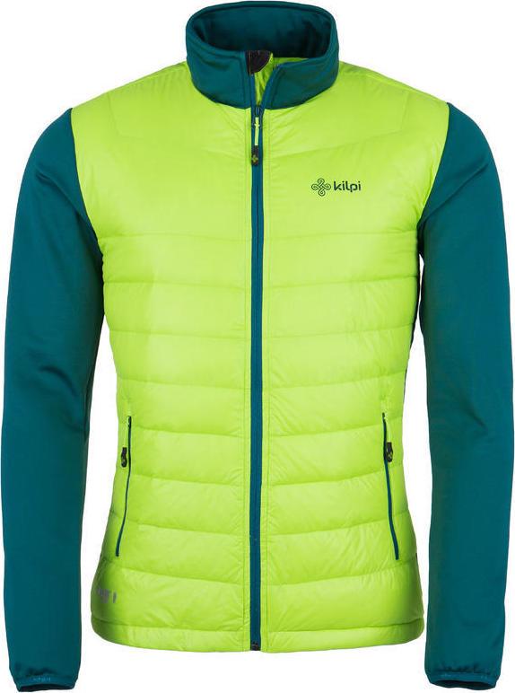 Pánská bunda KILPI BAFFIN-M Světle zelená Barva  Zelená 5be27a8cc5