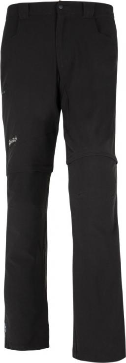 Pánské technické kalhoty KILPI FRANCOIS-M Černá 17 Barva: Černá, Velikost: S