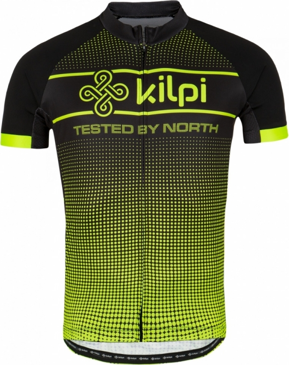 Pánský cyklistický dres KILPI ENTERO-M žlutá Barva: Žlutá, Velikost: S