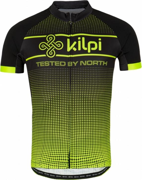 Pánský cyklistický dres KILPI ENTERO-M žlutá Barva: Žlutá, Velikost: L