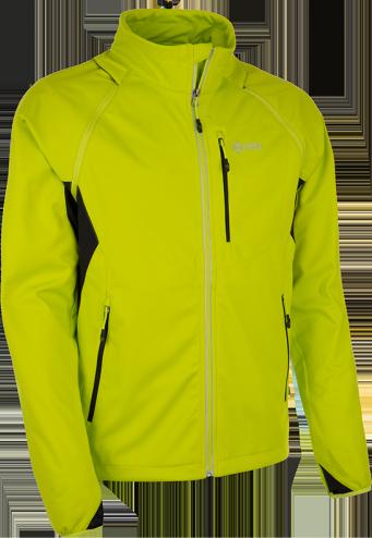 Pánská technická softshelová bunda KILPI TRANSFORMER-M žlutá Barva: Žlutá, Velikost: M