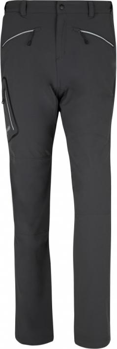 Pánské kalhoty KILPI AMBER-M tmavě šedá Barva: Šedá, Velikost: S