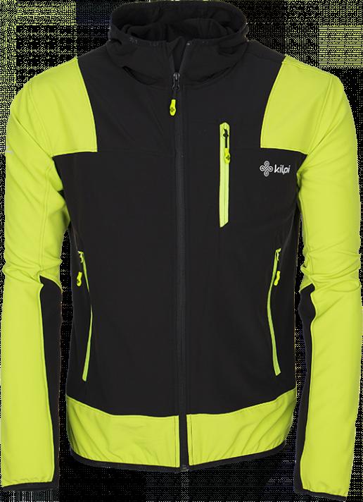 Pánská technická bunda KILPI JOSHUA-M Žlutá Barva: Žlutá, Velikost: M