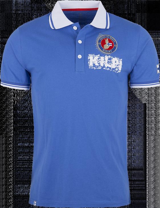 Pánské polo tričko KILPI FERDA modrá Barva: Modrá, Velikost: 3XL