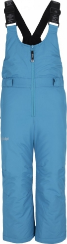 Dětské zimní kalhoty KILPI FUEBO-JG Světle modrá Barva: Modrá, Velikost: 110