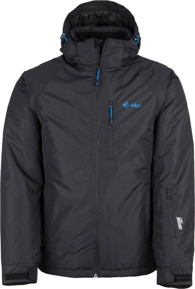 Pánská lyžařská bunda KILPI CHIP-M Černá Barva: Černá, Velikost: XS