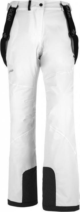 Dámské lyžařské kalhoty KILPI EUROPA-W Bílá Barva: Bílá, Velikost: 42S