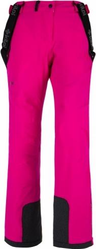 Dámské lyžařské kalhoty KILPI EUROPA-W Růžová Barva: Růžová, Velikost: 42S