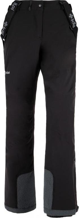 Dámské lyžařské kalhoty KILPI EUROPA-W Černá Barva: Černá, Velikost: 34