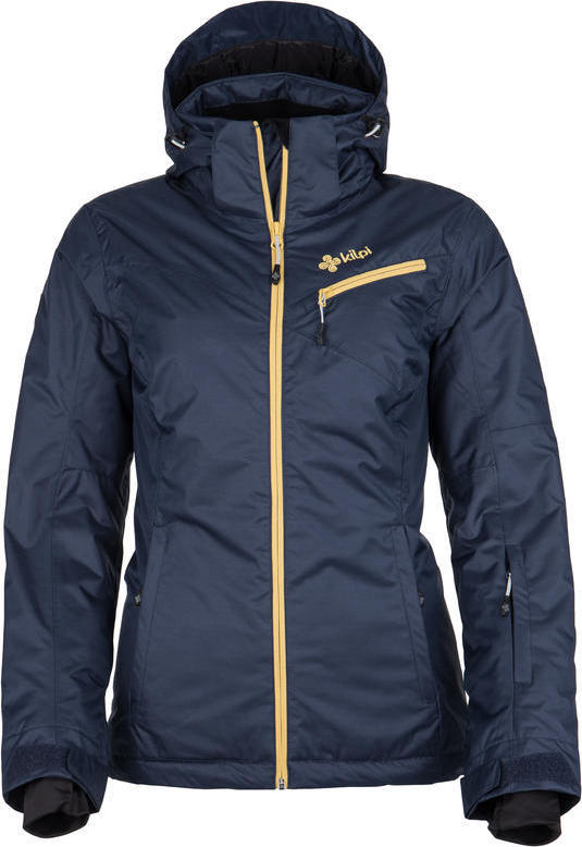 Dámská lyžařská bunda KILPI KANPU-W Tmavě modrá Barva: Modrá, Velikost: 42