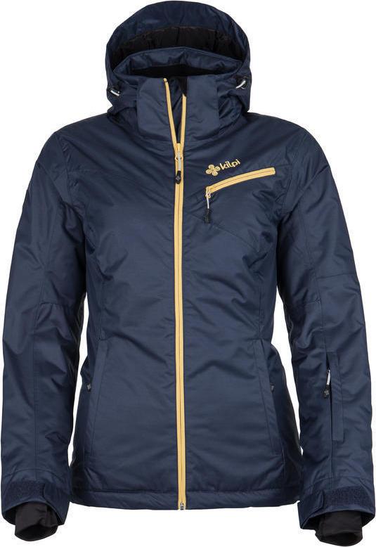 Dámská lyžařská bunda KILPI KANPU-W Tmavě modrá Barva: Modrá, Velikost: 44