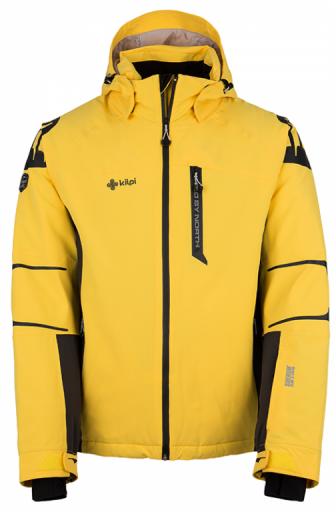 Pánská lyžařská bunda KILPI CARPO-M CARPO-M žlutá Barva: Žlutá, Velikost: 3XL