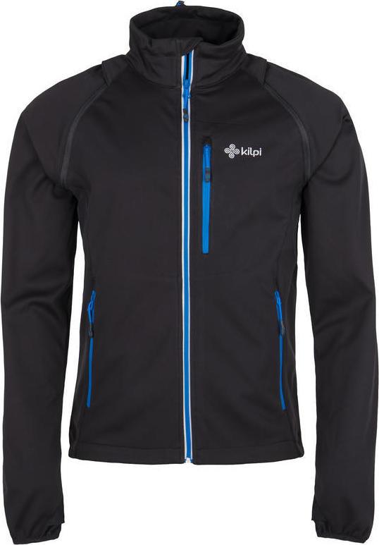 Pánská softshelová bunda KILPI TRANSFORMER-M Černá Barva: Černá, Velikost: M