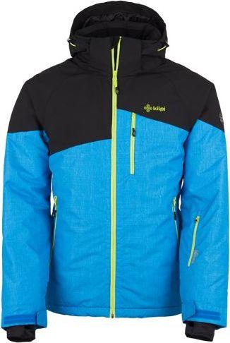 Pánská lyžařská bunda KILPI OLIVER-M Modrá Barva: Modrá, Velikost: 3XL